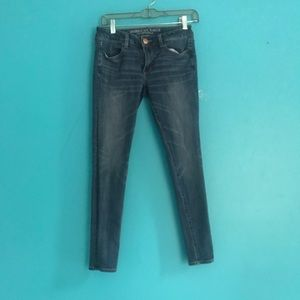 American Eagle Jeans Super Stretch Jegging Jeans